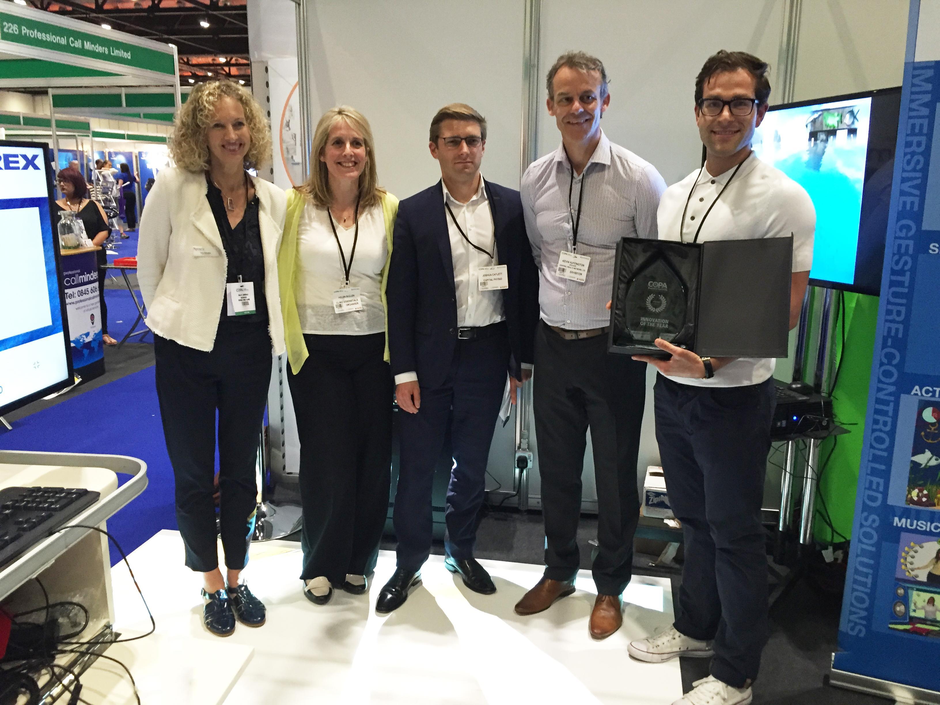 Thomas and team receive COPA award
