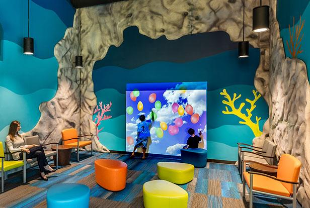 Pacific Pediatrics WallFX